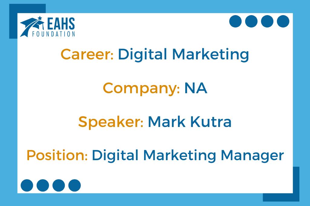 Digital Project Manager, Mark Kurta