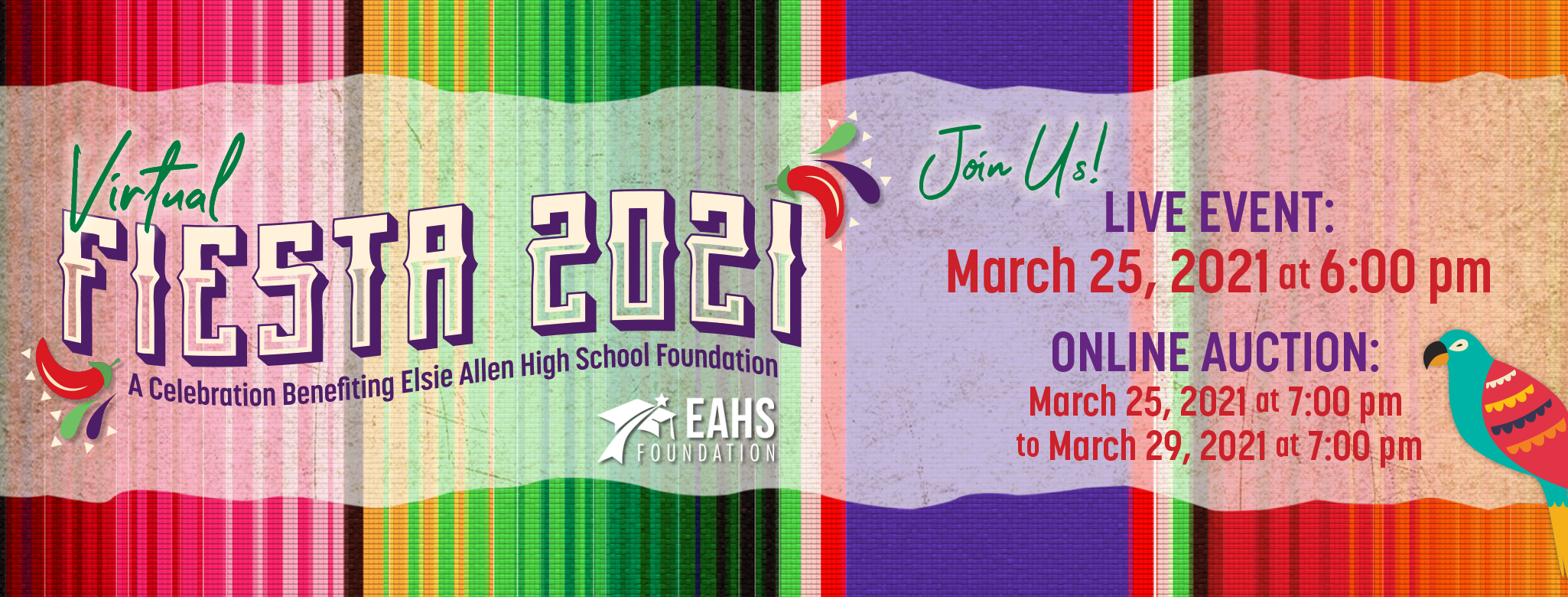 EAHS Foundation Fiesta 2021