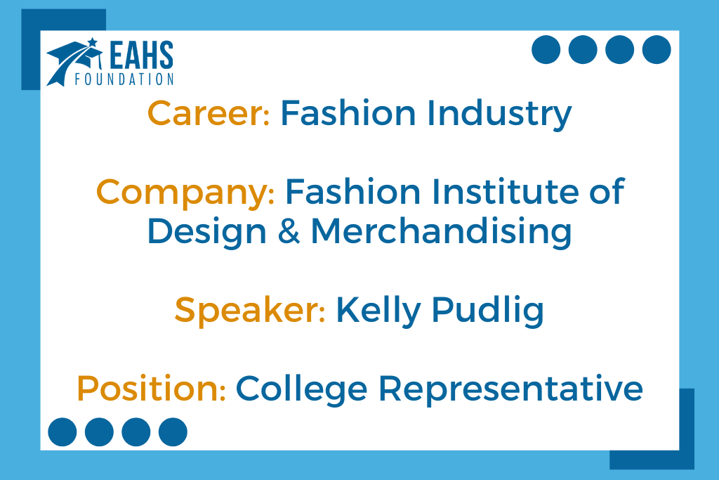 Fashion Institute of Design & Merchandising, Kelly Pudgil