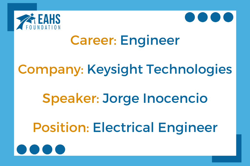 Keysight Technologies, Jorge Inocencio