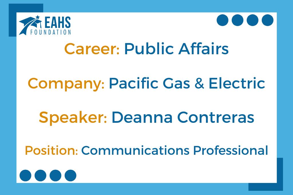 Pacific Gas & Electric, Deanna Contreras