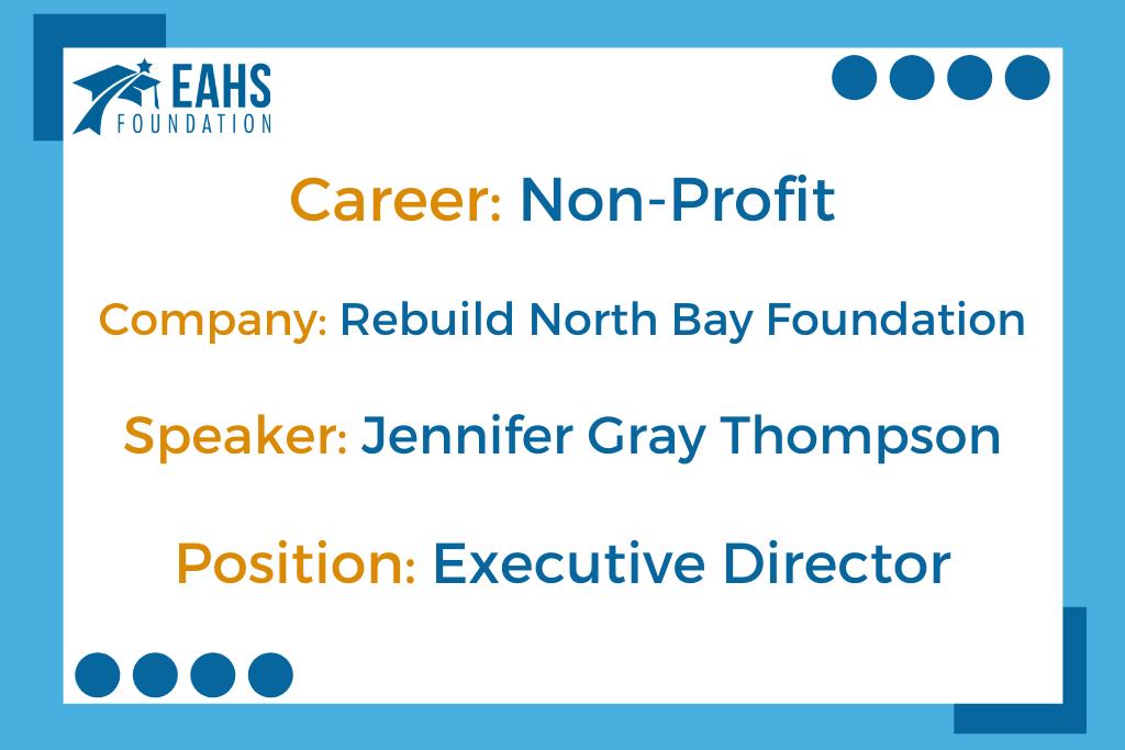 Rebuild North Bay Foundation, Jennifer Gray Thompson