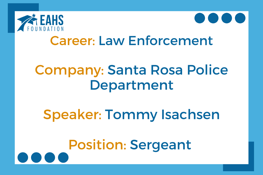 Santa Rosa Police Department, Tommy Isachsen