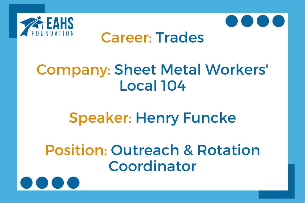 Sheet Metal Workers' Local 104, Henry Funcke