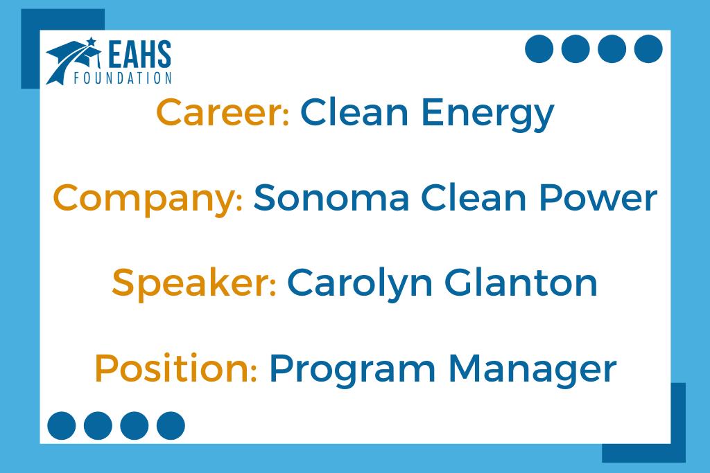 Sonoma Clean Power, Carolyn Glanton