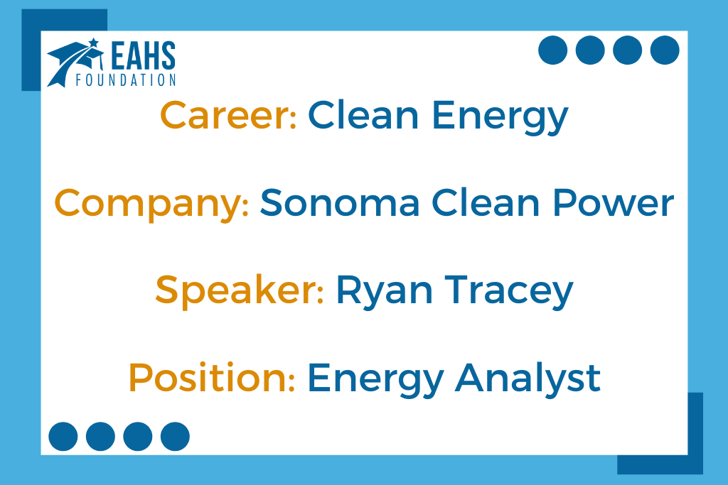 Sonoma Clean Power, Ryan Tracey