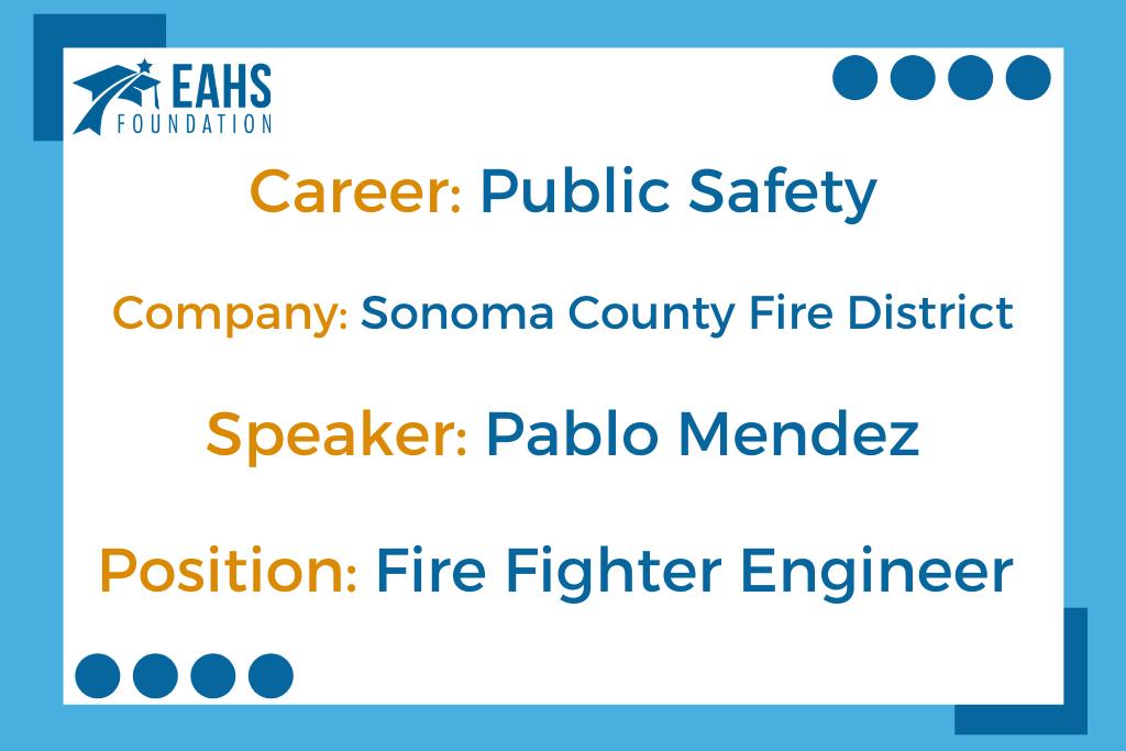 Sonoma County Fire District, Pablo Mendez