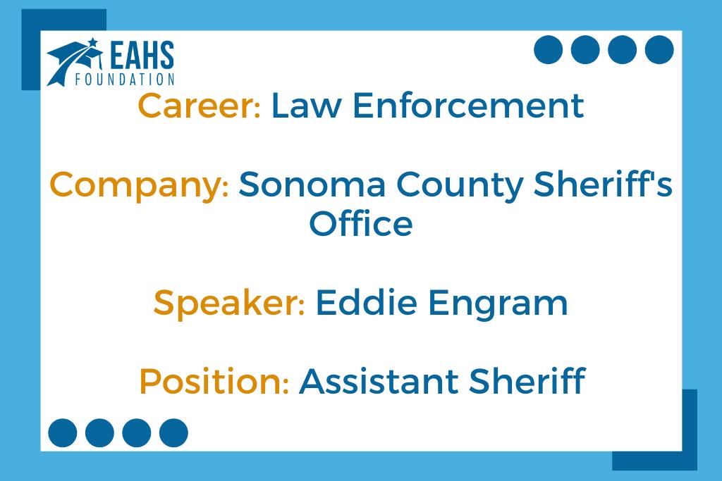 Sonoma County Sheriff, Eddie Engram