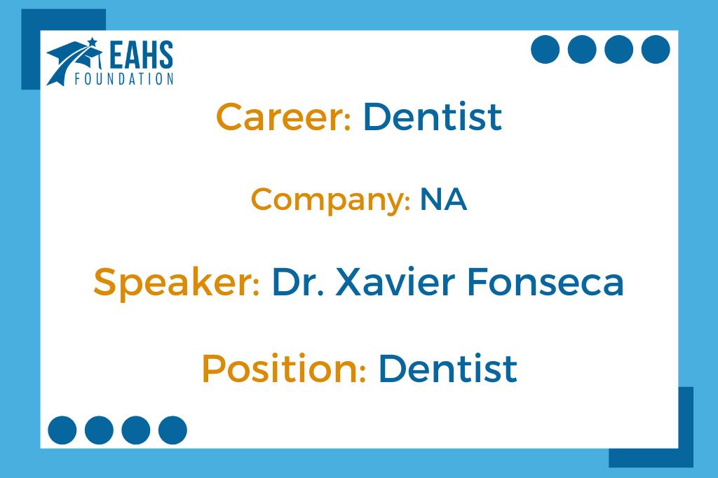 (Spanish) Dentist, Dr. Xavier Fonseca