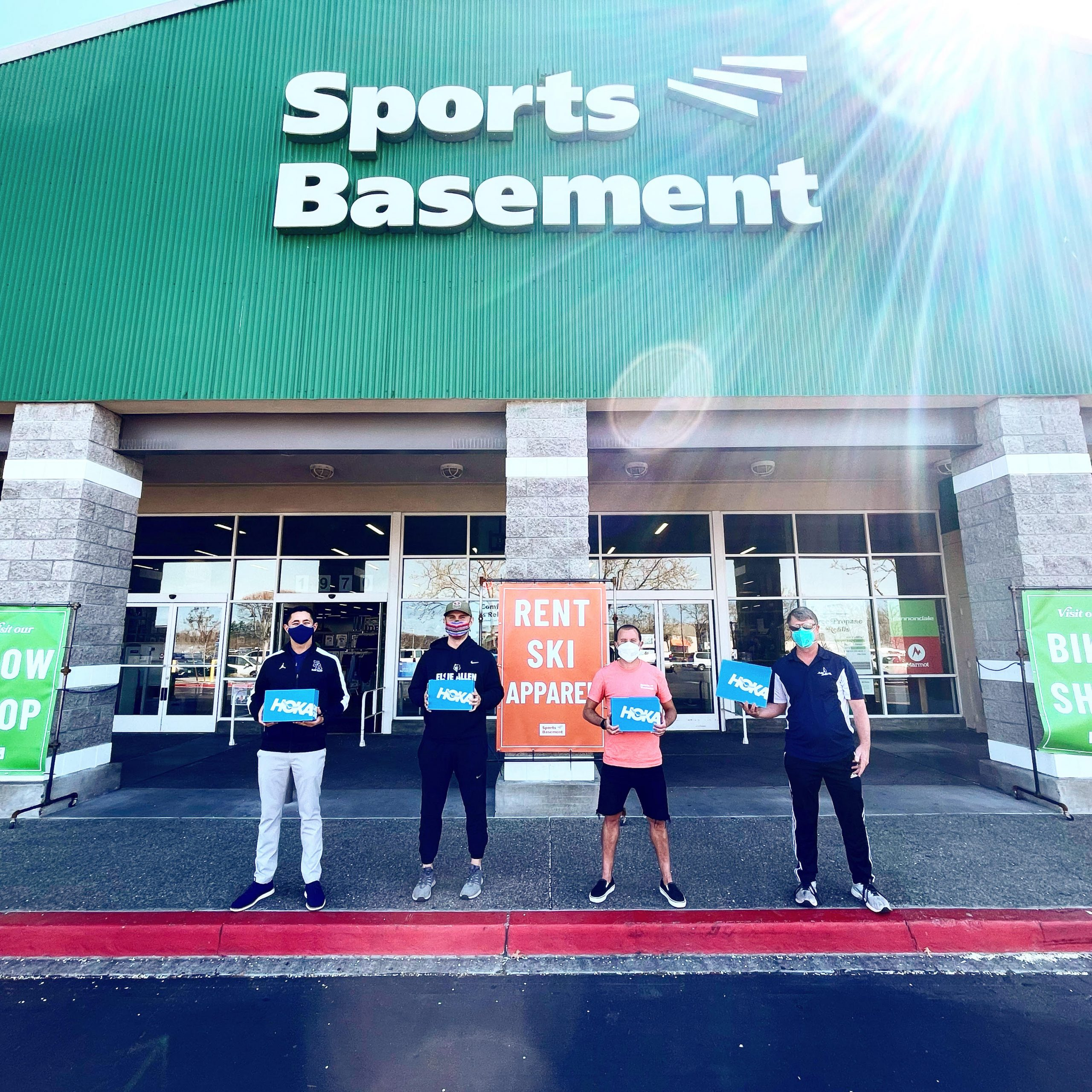 Sports Basement Donation
