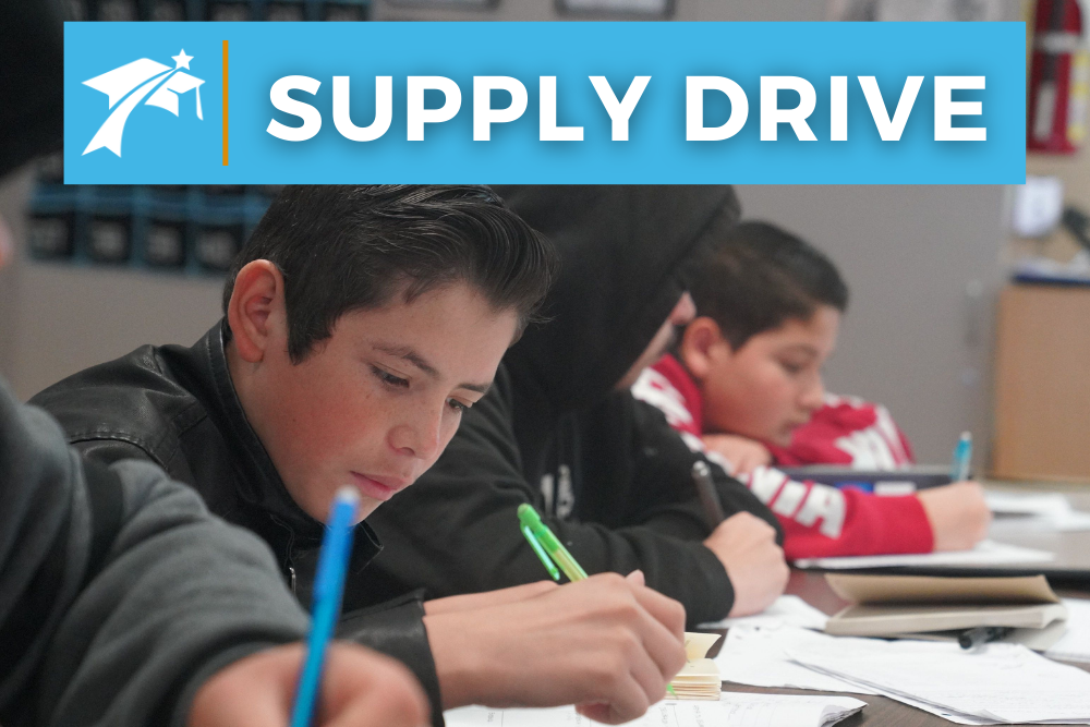 Supply Drive, EAHS Foundation