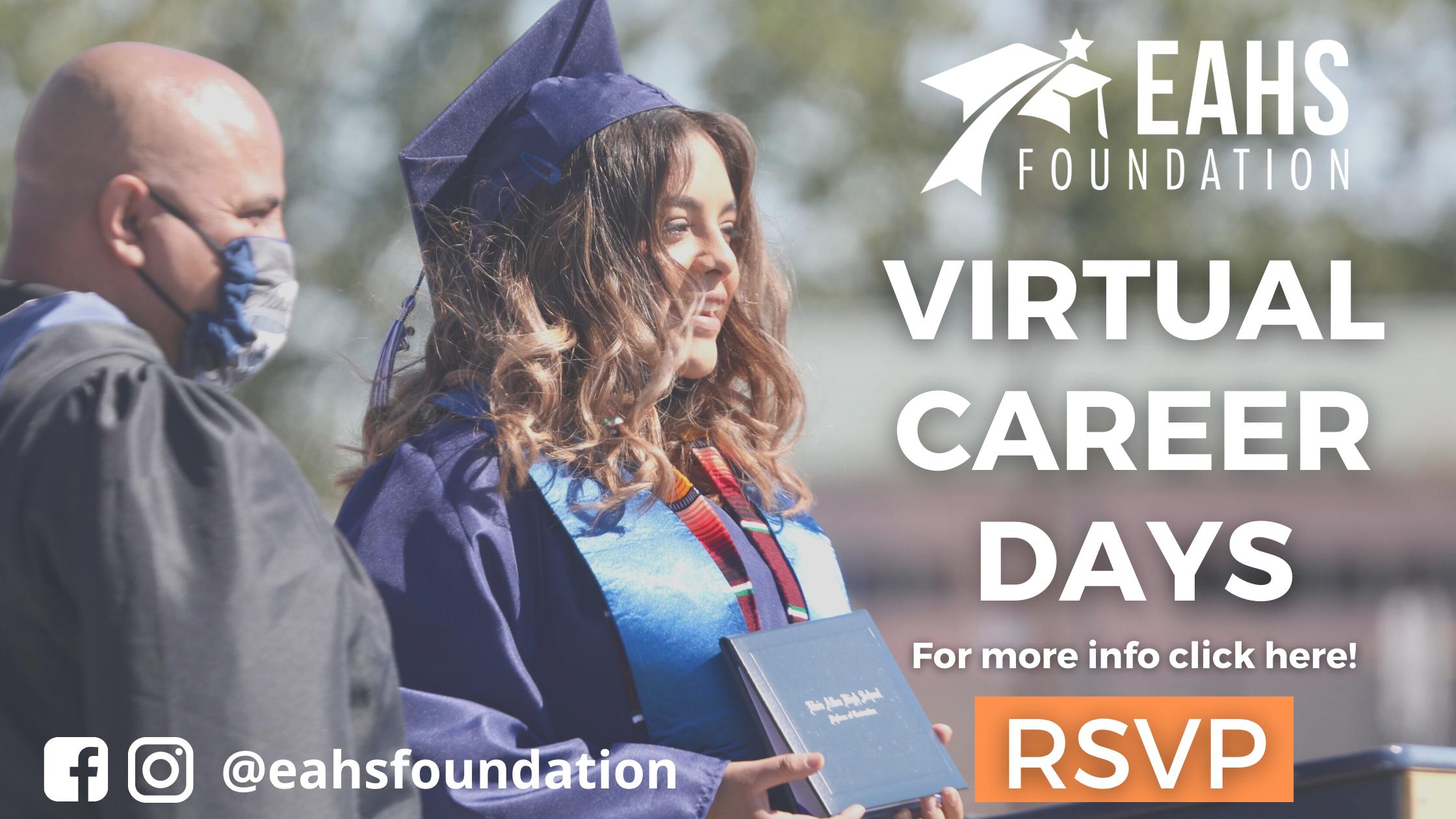Virtual Career Days -- Website Banner