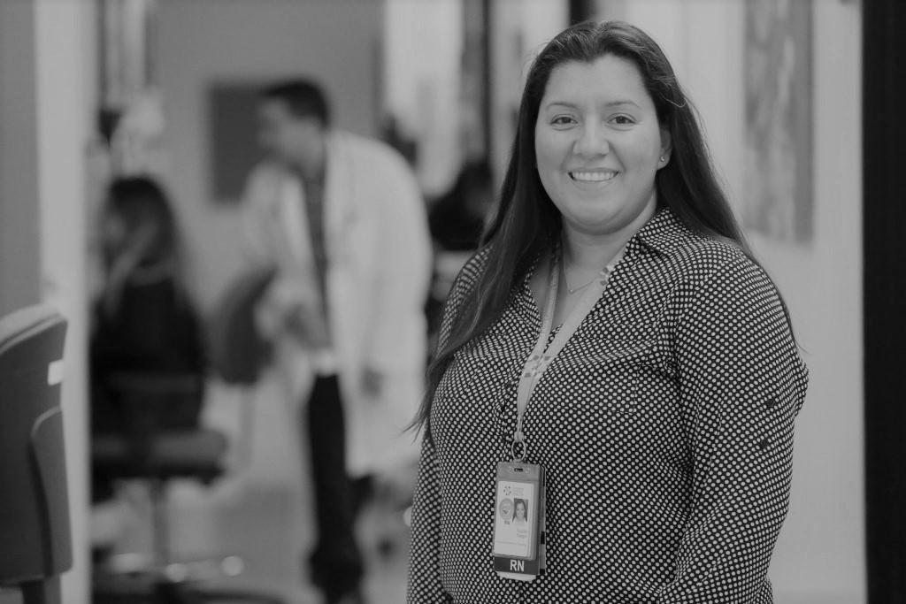 Yudith Vargas is the Associate Director of Nursing at Santa Rosa Community Health. (Christopher Chung/ The Press Democrat)